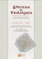 Pleitos_hidalgua_Granada_1